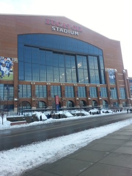 Lucas Oil outside