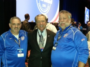 Mark Ziegler NEYSA, Carl Peterson USA Football, Ray Turpin NEYSA
