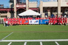 The 2016 Moms attending the Buffalo Bills Mom's Clinic